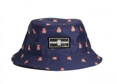 "Monmon ""The Bucket Hat"" Big Teddy Navy"