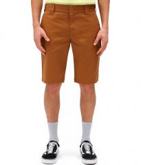 Dickies Slim Fit Short Brown Duck