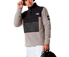 The North Face Black Box Polar Fleece Mineral Grey