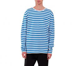 Makia Verkstad Long Sleeve Blue / White