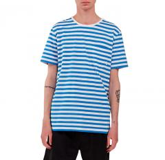 Makia Verkstad T-shirt Blue / White