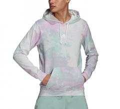 Adidas Essentials Tie-Dyed Inspirational Hoodie Clear Mint / Clear Lilac