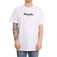 Mitchell & Ness Pinscript T-Shirt White