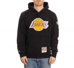 Mitchell & Ness LA Lakers Worn Logo Hoodie Black