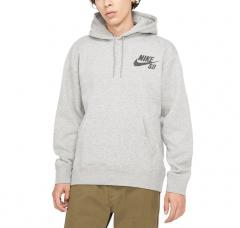 Nike SB Icon Essential Hoodie Dark Grey Heather / Black