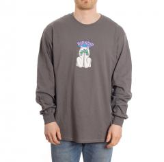 RIPNDIP Overthinking Long Sleeve Charcoal