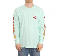 RIPNDIP Off My Wave Long Sleeve Aqua