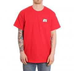 RIPNDIP Lord Nermal Pocket Tee Red