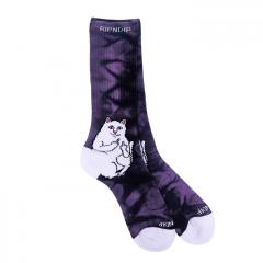 RIPNDIP Lord Nermal Socks Purple Lightning