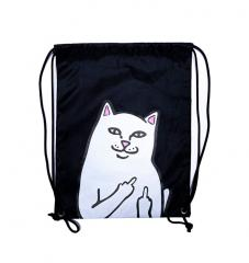 RIPNDIP Lord Nermal Drawstring Bag