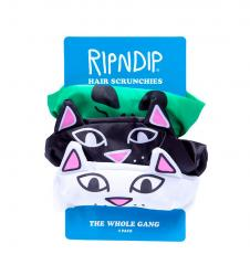 RIPNDIP Whole Gang Hair Scunchies (3 pack)