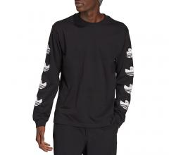 Adidas Originals Shmoofoil LS Tee Black / White