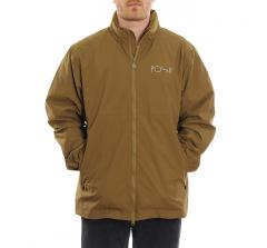 Polar Skate Co. Coach Jacket Green Brown