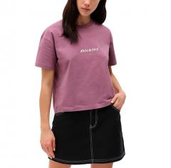 Dickies Womens Loretto T-Shirt Purple Gumdrop