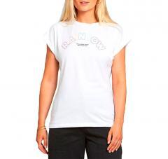 Dedicated Womens Rainbow Line T-Shirt White