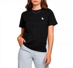Dedicated Womens Cat T-Shirt Black