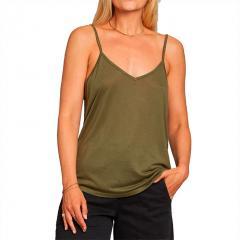 Dedicated Womens Lycke Top Leaf Green