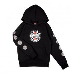 Independent Youth Truck Co. Sleeve Hoodie Black