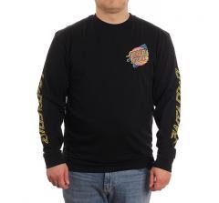 Santa Cruz No Pattern L/S T-Shirt Black