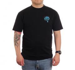 Santa Cruz Dressen Pup Dot T-Shirt Black