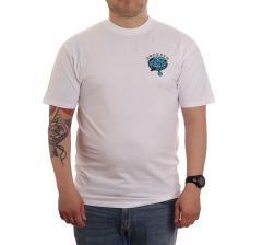 Santa Cruz Dressen Pup Dot T-Shirt White