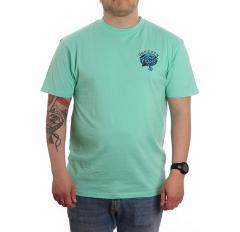 Santa Cruz Dressen Pup Dot T-Shirt Jade Green