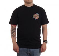 Santa Cruz No Pattern Dot T-Shirt Black