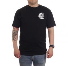 Santa Cruz Moon Dot Mono T-Shirt Black
