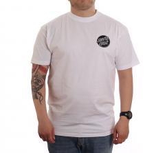 Santa Cruz Contra Dot Mono T-Shirt White