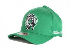 Mitchell & Ness Boston Celtics Solid Redline Snapback Green