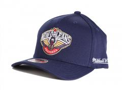 Mitchell & Ness New Orleans Pelicans Solid Redline Snapback Navy