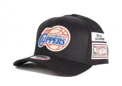 Mitchell & Ness Los Angeles Clippers The Jockey Redline Snapback Black