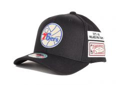 Mitchell & Ness Philadelphia 76ers The Jockey Redline Snapback Black