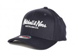 Mitchell & Ness Pinscript Redline Snapback Navy