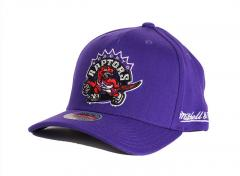 Mitchell & Ness Toronto Raptors Solid Redline Snapback Purple