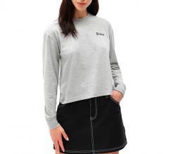 Dickies Womens Kelliher LS T-Shirt Grey Melange