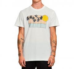Dedicated Sunset Palms T-Shirt White
