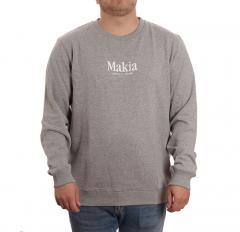 Makia Strait Sweatshirt Grey