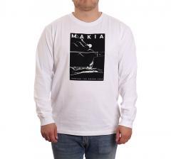 Makia Fyr Long Sleeve White