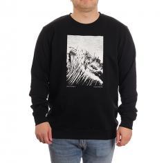 Makia Turbulent Light Sweatshirt Black