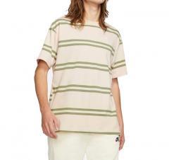 Nike SB Striped Skate T-Shirt Orange Pearl