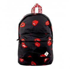 "Monmon ""The Wild One"" Backpack Lips"