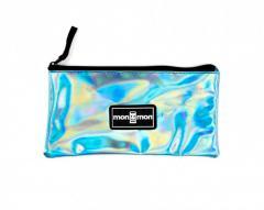 """Monmon """"The Pencil Case"""" Foil Turquoise"""