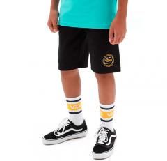 Vans Youth Off The Wall Fleece Shorts Black