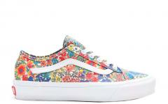 Vans Old Skool Tapered Liberty Fabrics Yellow Floral