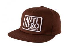 Anti Hero Reserve Patch Snapback Brown / White