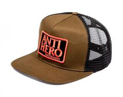 Anti Hero Reserve Patch Snapback Trucker Olive / Black