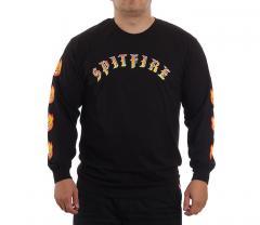 Spitfire Bighead Longsleeve T-Shirt Black / Red / Yellow