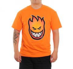 Spitfire Bighead Fade Fill T-Shirt Orange / Red