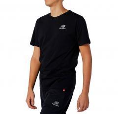 New Balance Essentials Embroidered T-Shirt Black